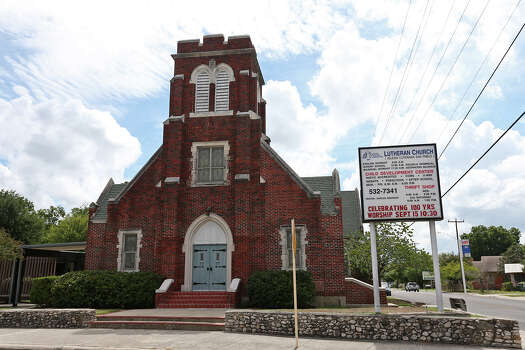 The congregation at St. Paul Lutheran Church is celebrating 100 years this month, though the current church building is not quite as old. Built in 1925, the red brick structure was enlarged in 1948. Read More Photo: JERRY LARA, San Antonio Express-News / © 2013 San Antonio Express-News