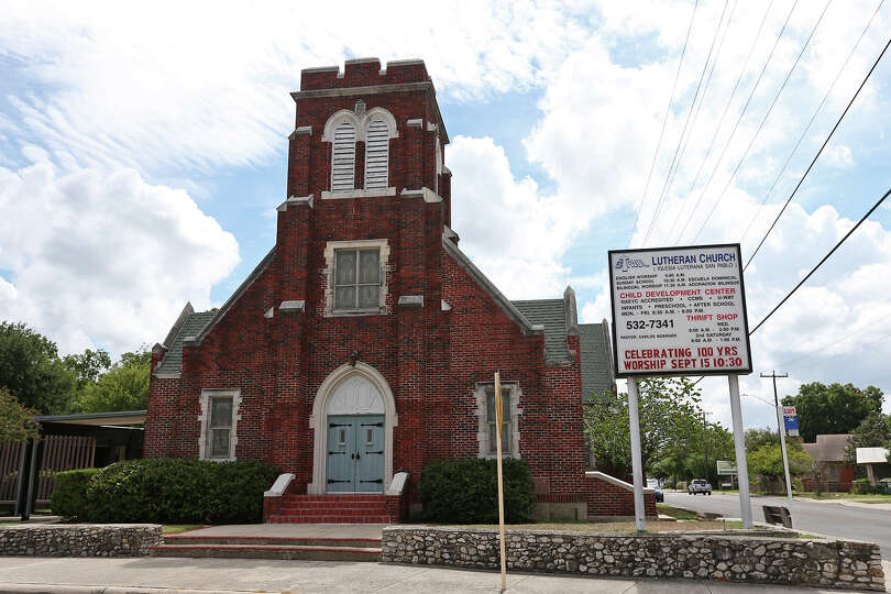 The congregation at St. Paul Lutheran Church is celebrating 100 years this month, though the