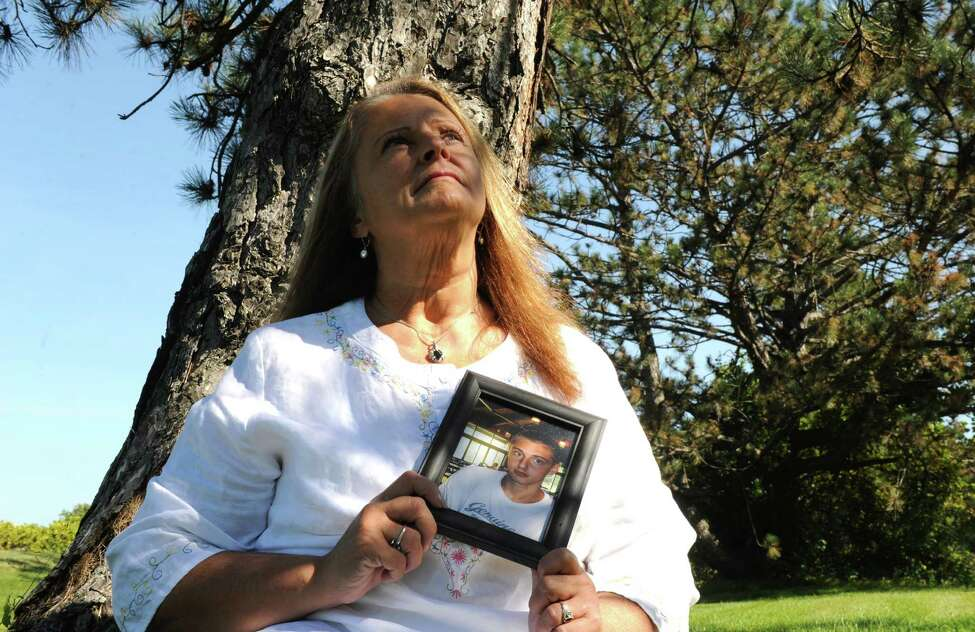 Auerbach says more young people in her Averill-Park community have also died of heroin overdoses since her son's death last October. (Michael P. Farrell/Times Union)