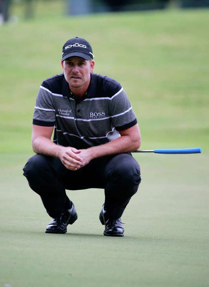 Henrik Stenson is sitting pretty with a nine-shot lead going into the final round of the Tour Championship. Photo: Sam Greenwood, Staff / 2013 Getty Images