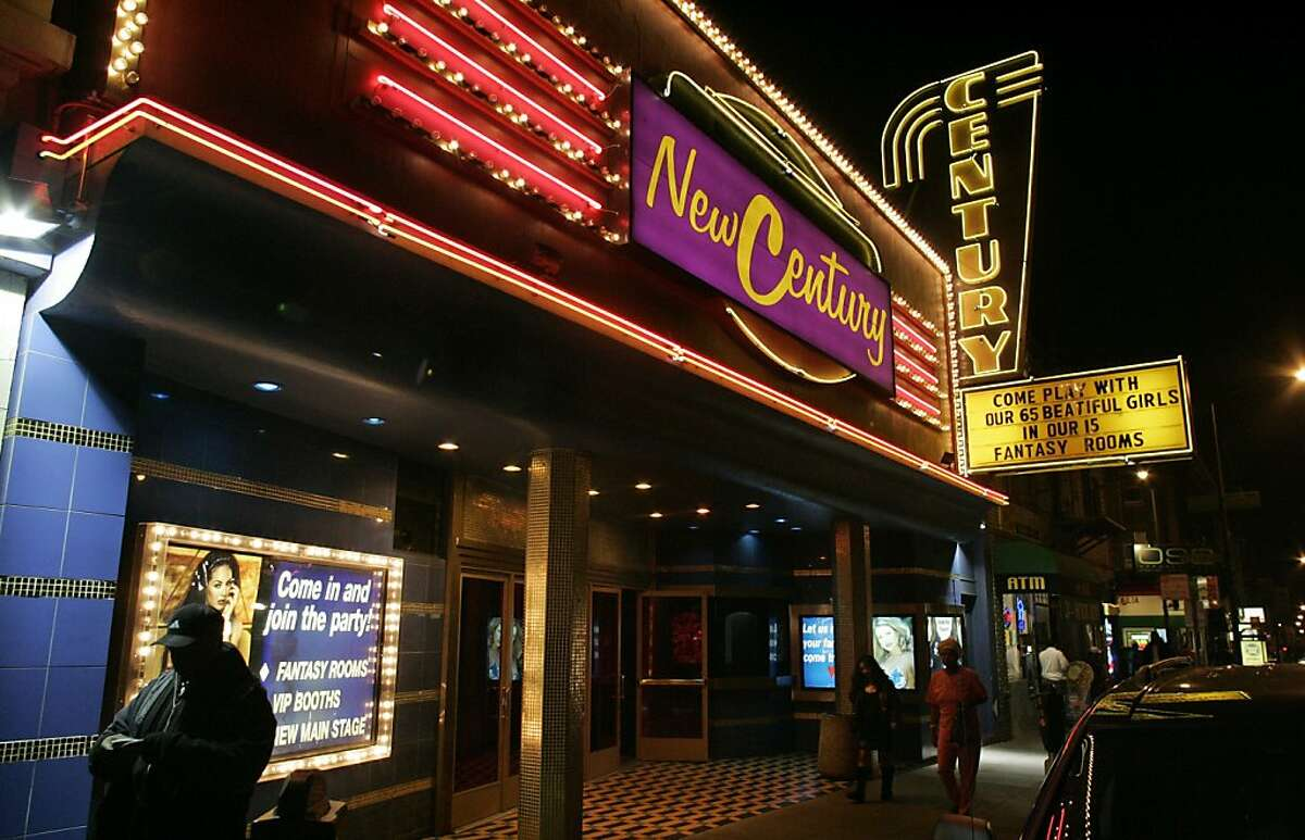 New Century Theater marquis