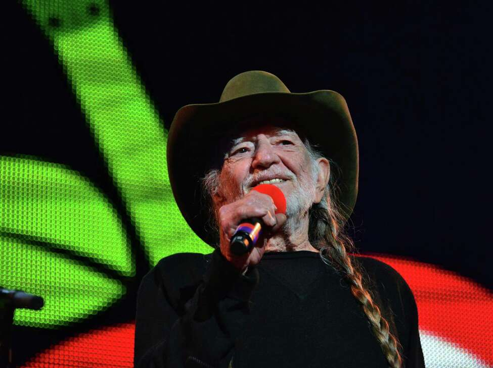 Willie Nelson on stage at Farm Aid 2013 at SPAC Saturday Sept. 21, 2013, in Saratoga Springs, NY. (John Carl D'Annibale / Times Union)