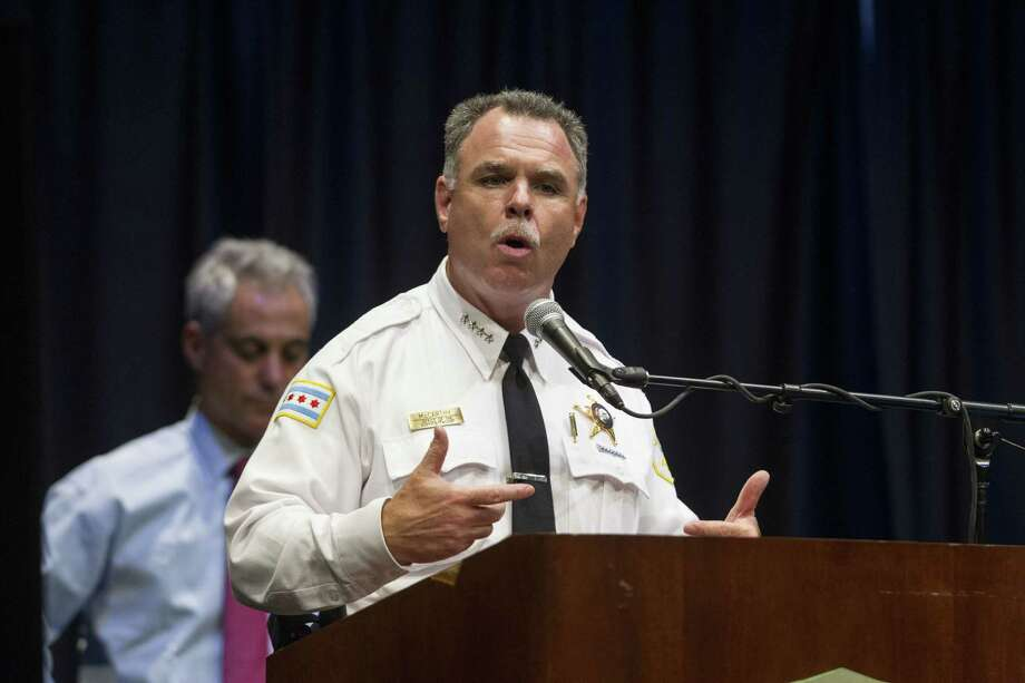 Chicago Police Superintendent Gary McCarthy said the assailants in the park attack fired at least 16 rounds from a 7.62 mm assault-style rifle. Photo: Associated Press