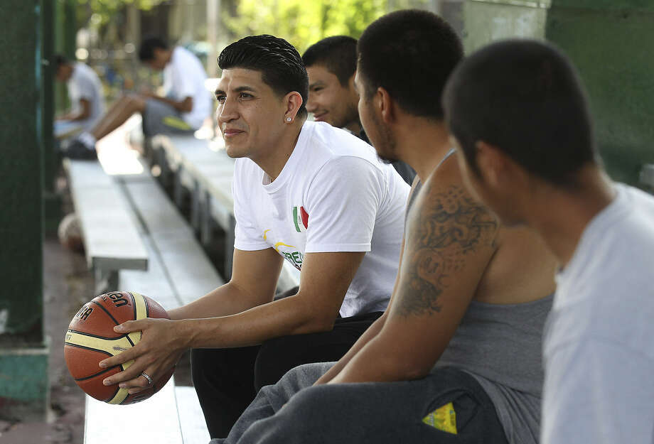 Despite a disadvantaged upbringing, Orlando Mendez-Valdez had a bright career at Lanier High and Western Kentucky before turning pro in Mexico. He also helped the national team qualify for the 2014 FIBA World Cup. Photo: Photos By Kin Man Hui / San Antonio Express-News
