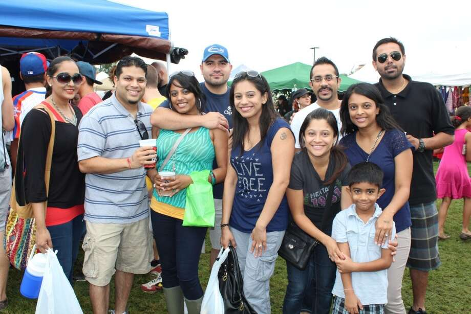 See who turned out for Day 1 of the Houston Hot Sauce Festival at the Stafford Centre. The heat continued Sunday. For more information, click here. http://houstonhotsauce.com/ Photo: Jorge Valdez, For The Houston Chronicle