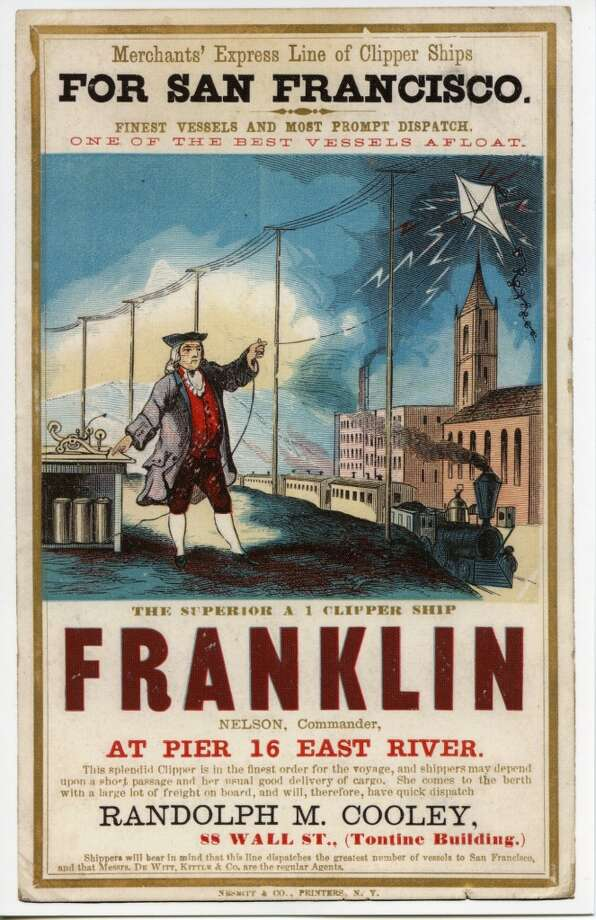 Franklin was built in 1859 by James Curtis in East Boston. Photo: Courtesy The Bancroft Library