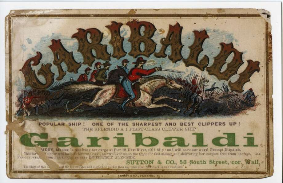 Garibaldi weighed 1421 tons, was 189 feet long and had a 40-foot beam. Photo: Courtesy The Bancroft Library