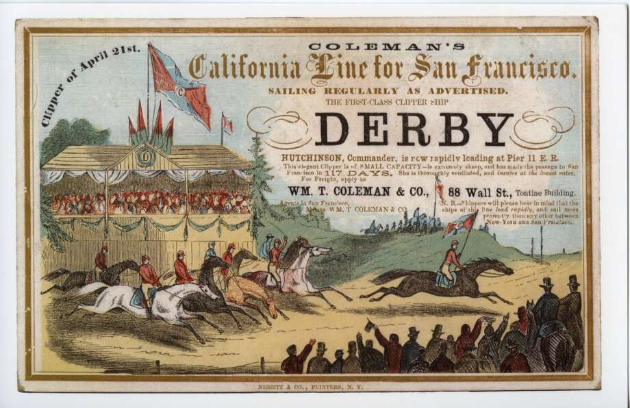 Derby had a long and full career, touching San Francisco sixteen times. Photo: Courtesy The Bancroft Library