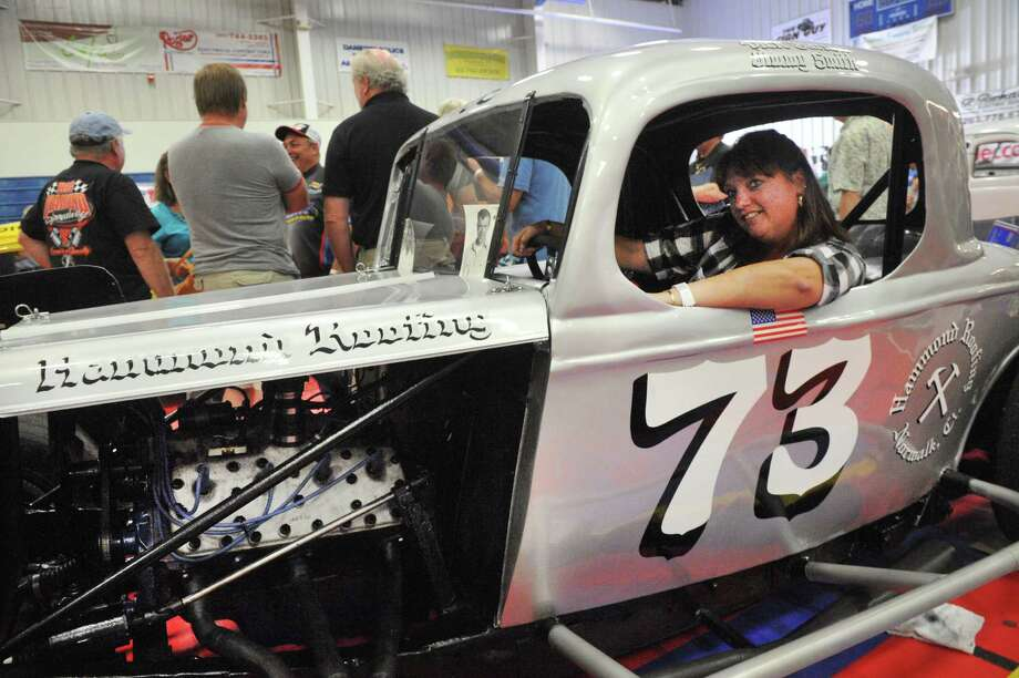 The Southern New York Racing Association holds its 12th annual reunion, which encourages fans to relive the Danbury Fair Speedway Racearena, is held in Danbury, Conn. Sunday, Sept. 22, 2013. Photo: Michael Duffy / The News-Times