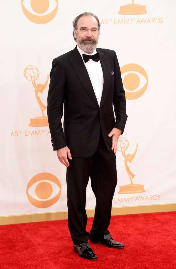 Actor Mandy Patinkin arrives at the 65th Annual Primetime Emmy Awards held at Nokia Theatre L.A. Live on September 22, 2013 in Los Angeles, California.  (Photo by Frazer Harrison/Getty Images) Photo: Frazer Harrison, Getty Images
