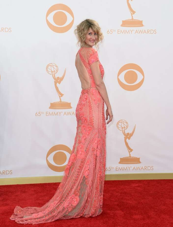 Actress Laura Dern arrives at the 65th Annual Primetime Emmy Awards held at Nokia Theatre L.A. Live on September 22, 2013 in Los Angeles, California.  (Photo by Jason Merritt/Getty Images) Photo: Jason Merritt, Getty Images
