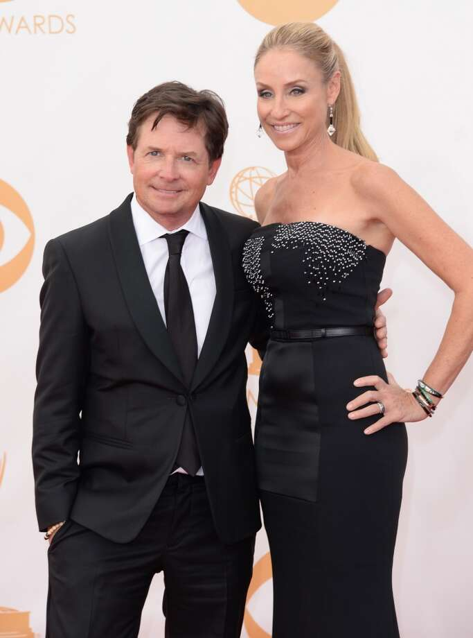 Actors Michael J. Fox and Tracy Pollan arrive at the 65th Annual Primetime Emmy Awards held at Nokia Theatre L.A. Live on September 22, 2013 in Los Angeles, California.  (Photo by Jason Merritt/Getty Images) Photo: Jason Merritt, Getty Images