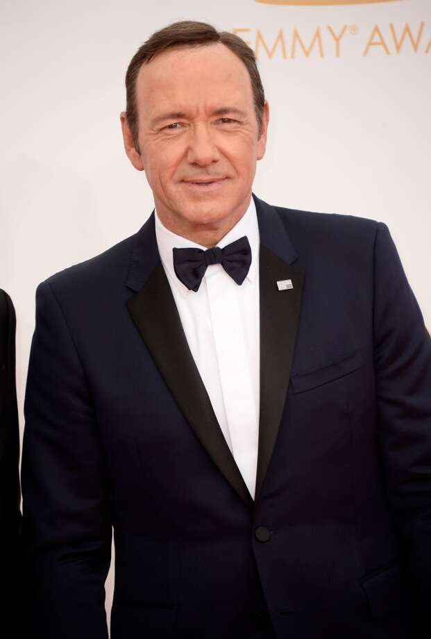 Actor Kevin Spacey  arrives at the 65th Annual Primetime Emmy Awards held at Nokia Theatre L.A. Live on September 22, 2013 in Los Angeles, California.  (Photo by Frazer Harrison/Getty Images) Photo: Frazer Harrison, Getty Images