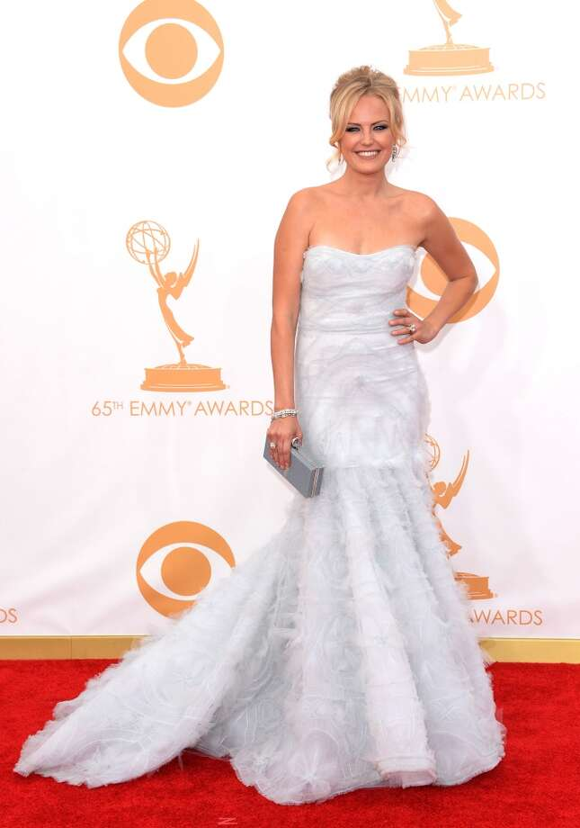 Actress Malin Akerman arrives at the 65th Annual Primetime Emmy Awards held at Nokia Theatre L.A. Live on September 22, 2013 in Los Angeles, California.  (Photo by Jason Merritt/Getty Images) Photo: Getty Images