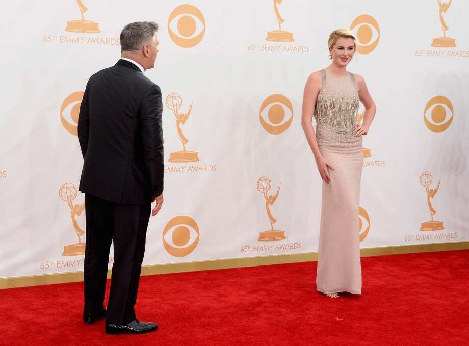 Actor Alec Baldwin and model Ireland Baldwin arrive at the 65th Annual Primetime Emmy Awards held at Nokia Theatre L.A. Live on September 22, 2013 in Los Angeles, California.  (Photo by Frazer Harrison/Getty Images) Photo: Frazer Harrison, Getty Images