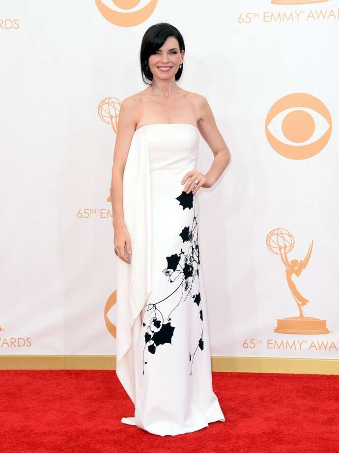 Actress Julianna Margulies arrives at the 65th Annual Primetime Emmy Awards held at Nokia Theatre L.A. Live on September 22, 2013 in Los Angeles, California.  (Photo by Jason Merritt/Getty Images) Photo: Getty Images