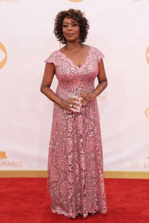 Alfre Woodard arrives at the 65th Primetime Emmy Awards at Nokia Theatre on Sunday Sept. 22, 2013, in Los Angeles.  (Photo by Jordan Strauss/Invision/AP) Photo: Associated Press