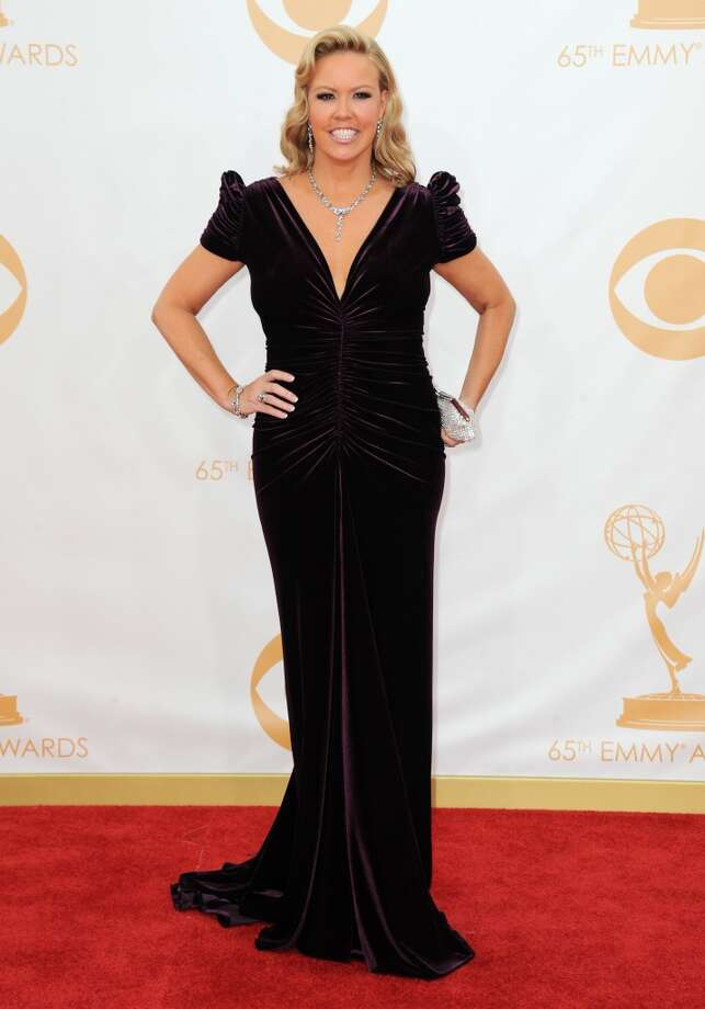 Mary Murphy arrives at the 65th Primetime Emmy Awards at Nokia Theatre on Sunday Sept. 22, 2013, in Los Angeles.  (Photo by Jordan Strauss/Invision/AP) Photo: Associated Press