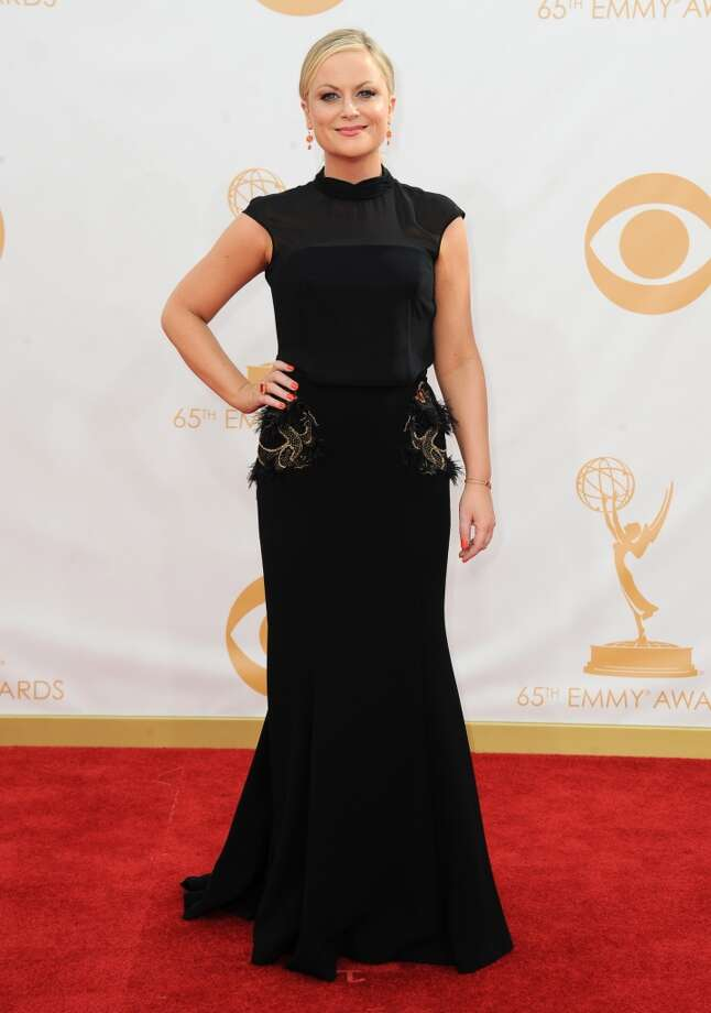 Amy Poehler: No, no. Too severe. You're not in mourning. Photo: Associated Press