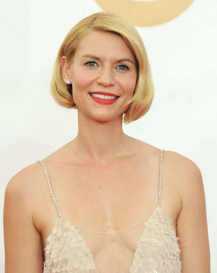 Claire Danes: nice faux bob Photo: AP