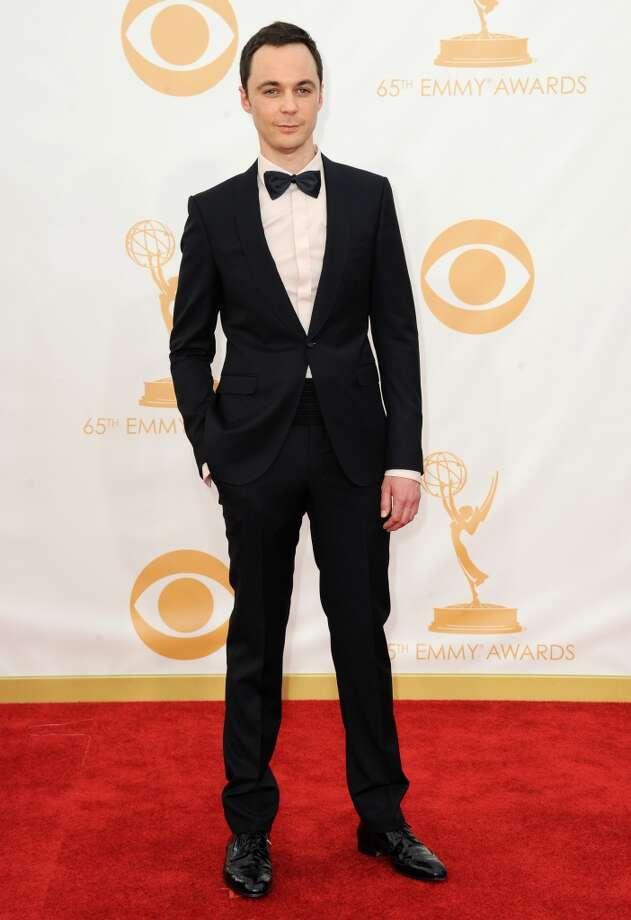 "Jim Parsonsof ""Big Bang Theory."" Photo: Jordan Strauss, Associated Press"