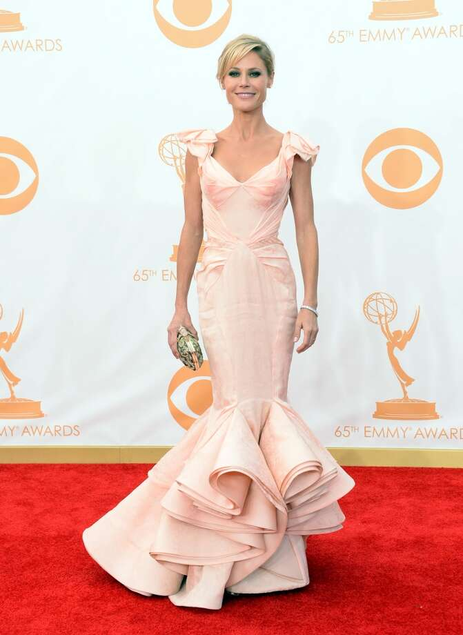 Actress Julie Bowen arrives at the 65th Annual Primetime Emmy Awards held at Nokia Theatre L.A. Live on September 22, 2013 in Los Angeles, California.  (Photo by Jason Merritt/Getty Images) Photo: Jason Merritt, Getty Images
