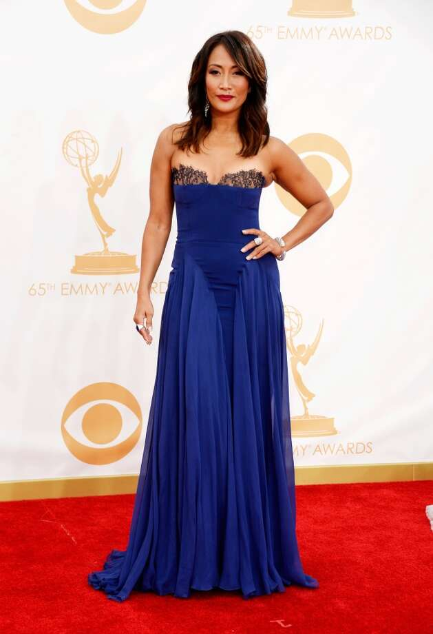 Actress/dancer Carrie Ann Inaba arrives at the 65th Annual Primetime Emmy Awards held at Nokia Theatre L.A. Live on September 22, 2013 in Los Angeles, California.  (Photo by Frazer Harrison/Getty Images) Photo: Frazer Harrison, Getty Images