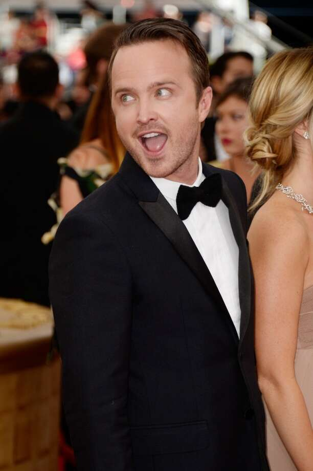 LOS ANGELES, CA - SEPTEMBER 22:  Actor Aaron Paul arrives at the 65th Annual Primetime Emmy Awards held at Nokia Theatre L.A. Live on September 22, 2013 in Los Angeles, California.  (Photo by Frazer Harrison/Getty Images) Photo: Frazer Harrison, Getty Images