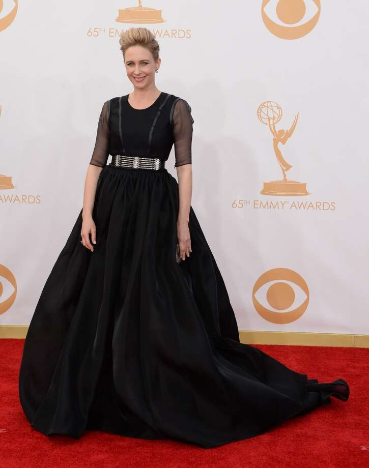 Actress Vera Farmiga arrives at the 65th Annual Primetime Emmy Awards held at Nokia Theatre L.A. Live on September 22, 2013 in Los Angeles, California.  (Photo by Jason Merritt/Getty Images) Photo: Jason Merritt, Getty Images