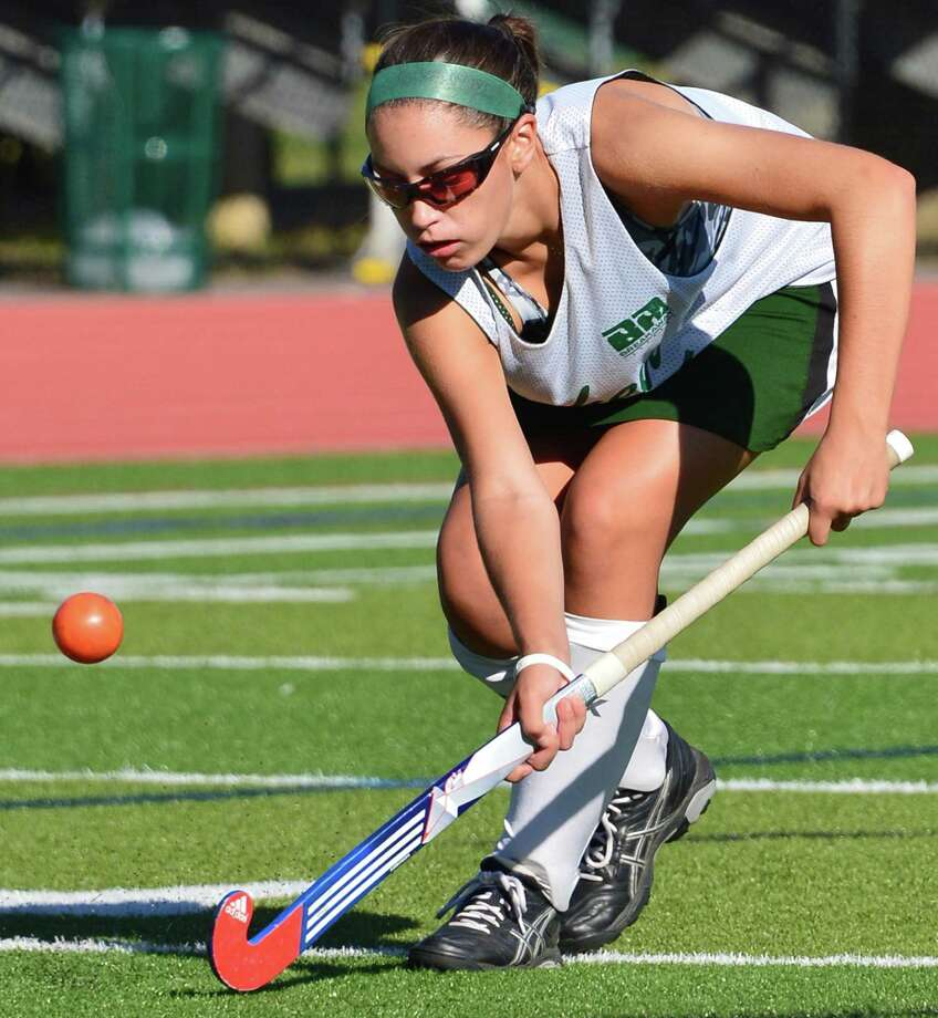 Shenendehowa field hockey player Nicole daCunha during their game against Saratoga High at Shenendehowa Friday Sept. 20, 2013, in Clifton park, NY.     (John Carl D'Annibale / Times Union) Photo: John Carl D'Annibale / 00023934A