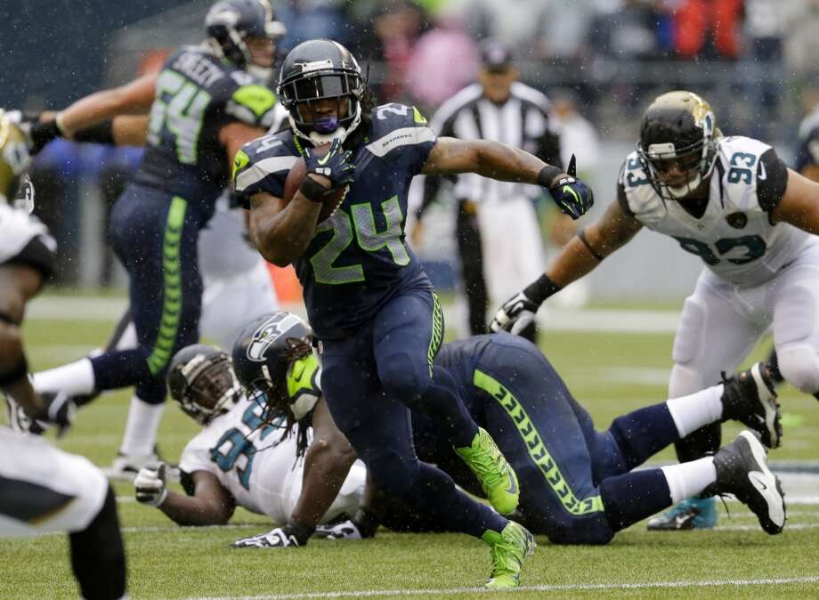 What we learned: Seahawks clobber Jaguars 45-17Coming off of last week's monster matchup against the San Francisco 49ers, you could forgive the Seahawks if they came out a little flat against the lowly Jacksonville Jaguars. But that didn't happen. The Seahawks built up an insurmountable 24-0 halftime lead en route to a 45-17 blowout in front of 68,087 at CenturyLink Field on Sunday.  Click through the gallery to see what we're taking away from the Hawks' big win. Photo: Ted S. Warren, Associated Press