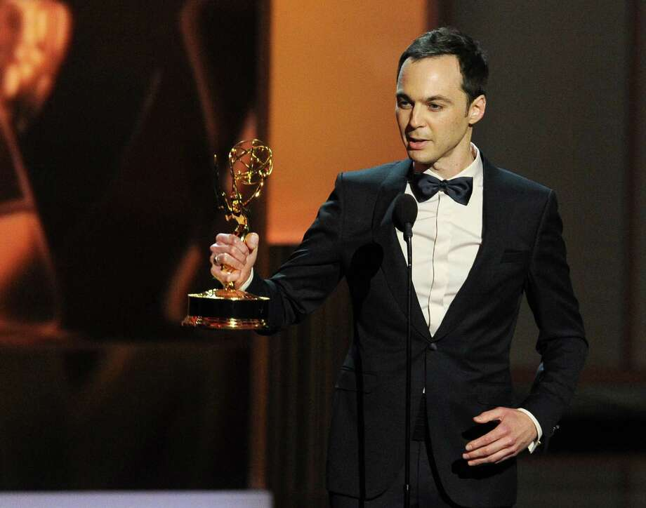 LOS ANGELES, CA - SEPTEMBER 22:  Winner of the Best Lead Actor in a Comdey Series, Jim Parsons speaks onstage during the 65th Annual Primetime Emmy Awards held at Nokia Theatre L.A. Live on September 22, 2013 in Los Angeles, California.  (Photo by Kevin Winter/Getty Images) Photo: Kevin Winter, Staff / 2013 Getty Images