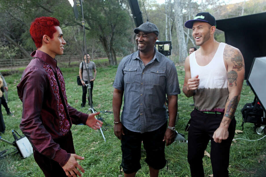 "America's Next Top Model -- ""The Girl Whose Walk is TOO Good"" pictured left to right: Marvin, Matthew Jordan Smith and Johnny Wujek Cycle 20 Photo: Patrick Wymore/The CW ©2013 The CW Network, LLC. All Rights Reserved Photo: Patrick Wymore, THE CW / ©2013 The CW Network, LLC. All Rights Reserved"