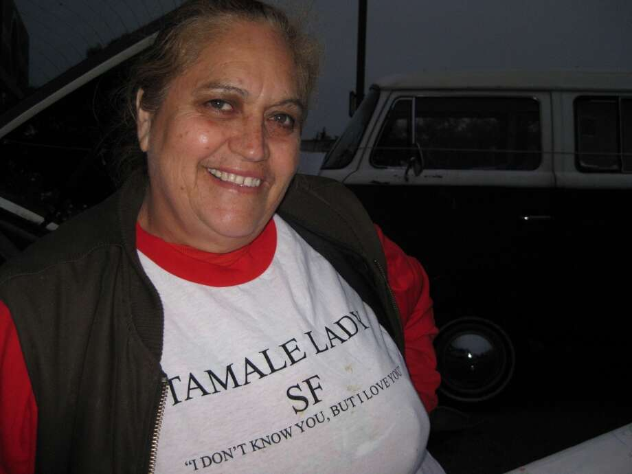 Your favorite ladies are the Tamale Lady and the Friday Pie Lady. Photo: Trey Bundy, Courtesy