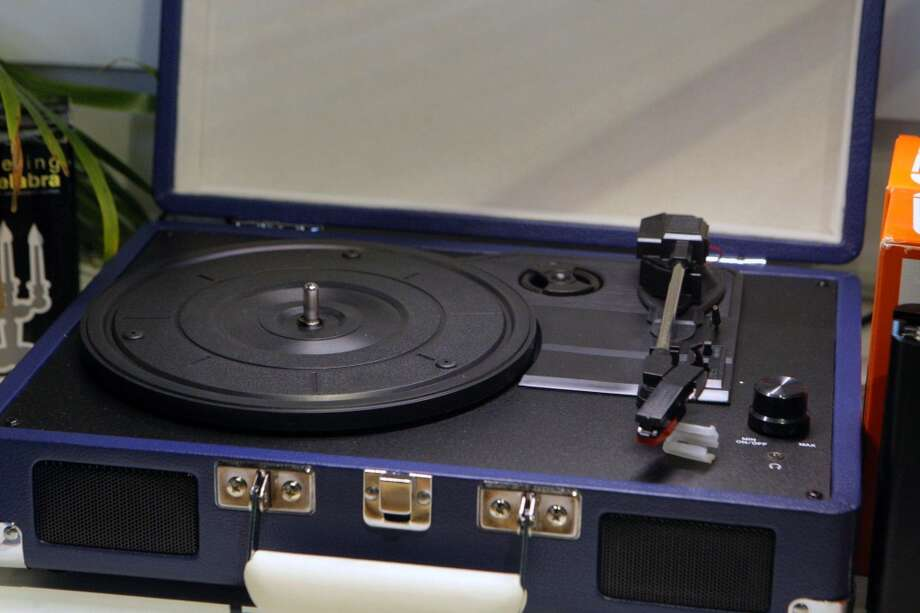 You have a turntable, even if it's your only table. Photo: Jessica Olthof, The Chronicle