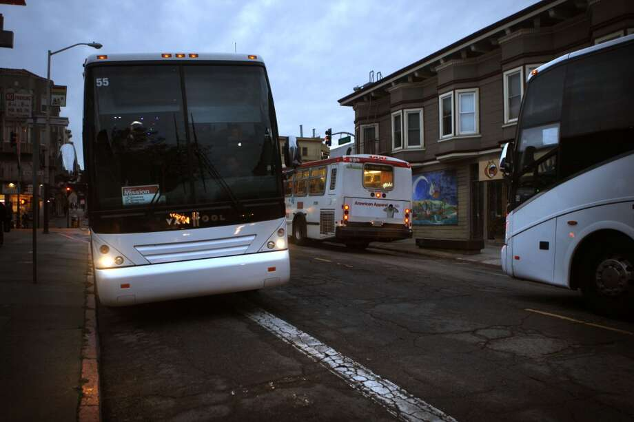 You've considered egging a Google bus. Photo: Liz Hafalia, The Chronicle