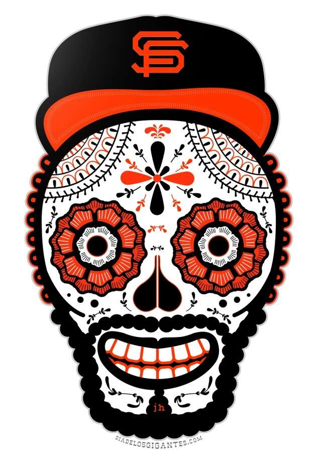 You have a Day Of The Dead Giants T-shirt. Photo: John Hersey, Special To The Chronicle