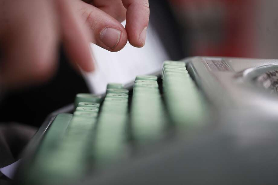 You're saving up for a vintage typewriter. Photo: Mike Kepka, The Chronicle