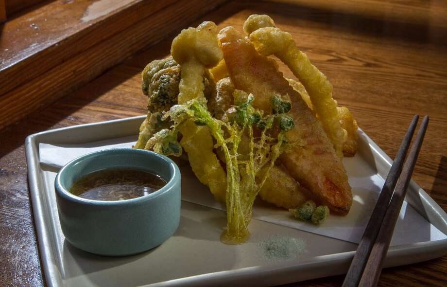 Vegetable Tempura at Akiko's in San Francisco. Photo: John Storey, Special To The Chronicle