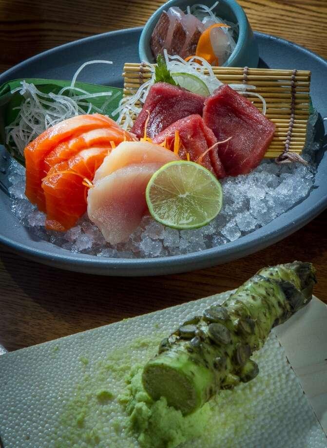 Akiko's Sushi Restaurant431 Bush St., S.F.(415) 397-3218The Omakase Sashimi is shown at Akiko's. Photo: John Storey, Special To The Chronicle