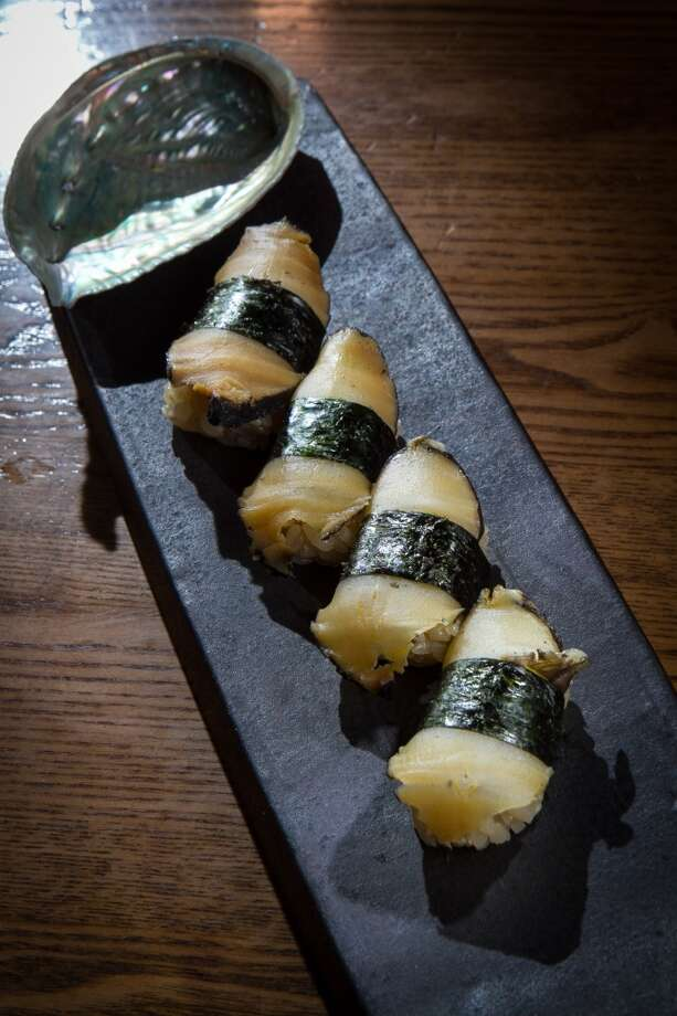 The Black Abalone at Akiko's in San Francisco. Photo: John Storey, Special To The Chronicle