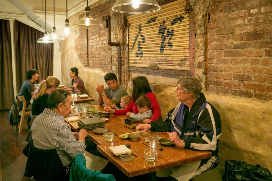 People have dinner at Akiko's in San Francisco. Photo: John Storey, Special To The Chronicle