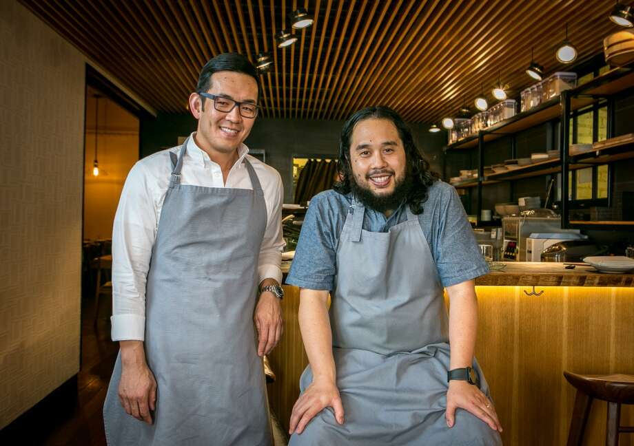 Owner Ray Lee, left, and chef Ricky Yap at Akiko's in San Francisco. Photo: John Storey, Special To The Chronicle