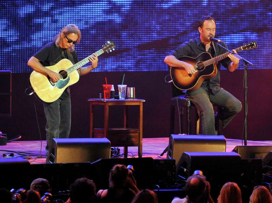Dave Matthews is headed back to SPAC this summer with guitarist, Tim Reynolds. Click through the slideshow to see which other musicians and comedy acts are coming to the area soon. Photo: HANS PENNINK, AP / FR58980 AP