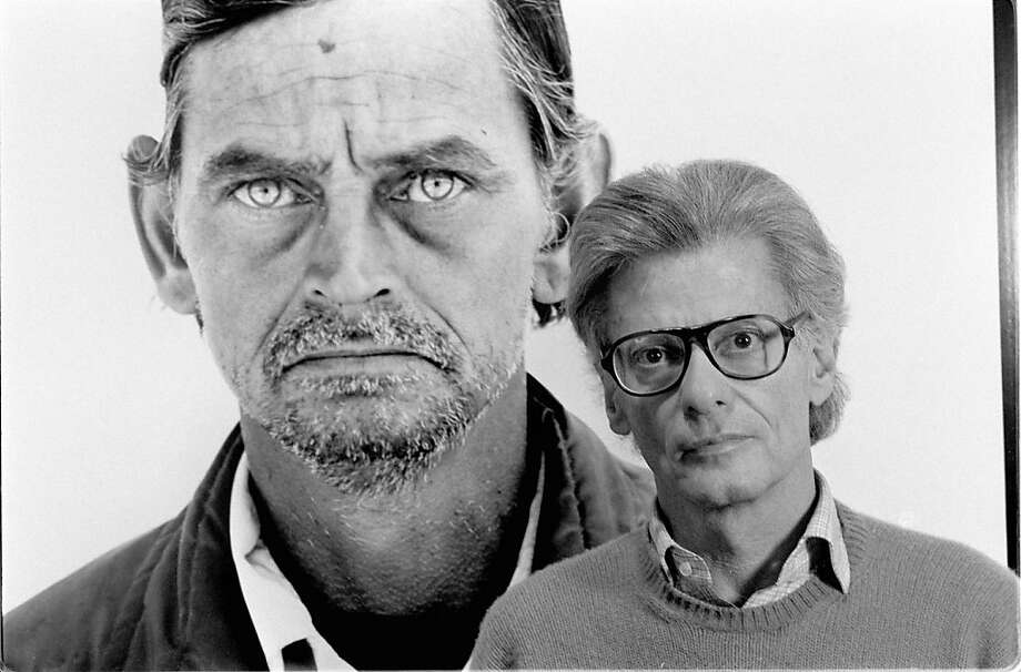 Photographer Richard Avedon was feted at Francis Coppola's house in 1980. Photo: Jack Manning, NYT