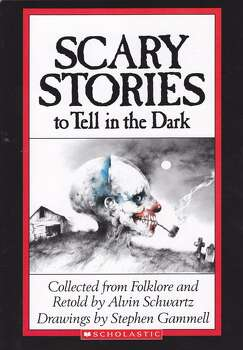 """Scary Stories to Tell in the Dark"" by Alvin Schwartz: This collection