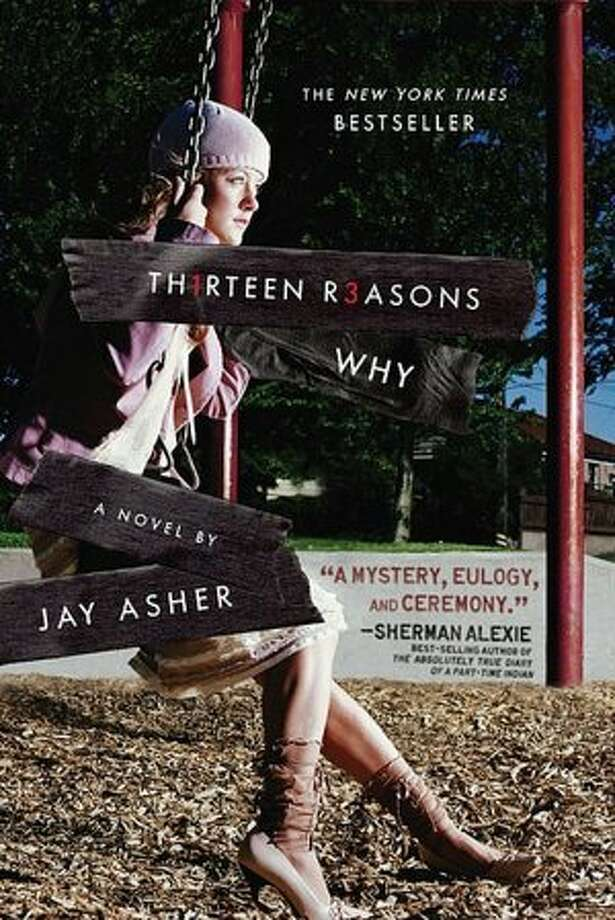 """""""Thirteen Reasons Why"""" by Jay Asher – On the American Library Association's list of frequently challenged books, it ranked No. 3 in 2012 – Some complained the series includes drug references, sexually explicit content and suicide."""