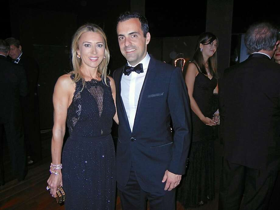 Juliet de Baubigny and Hugo Barra. Photo: Catherine Bigelow, Special To The Chronicle