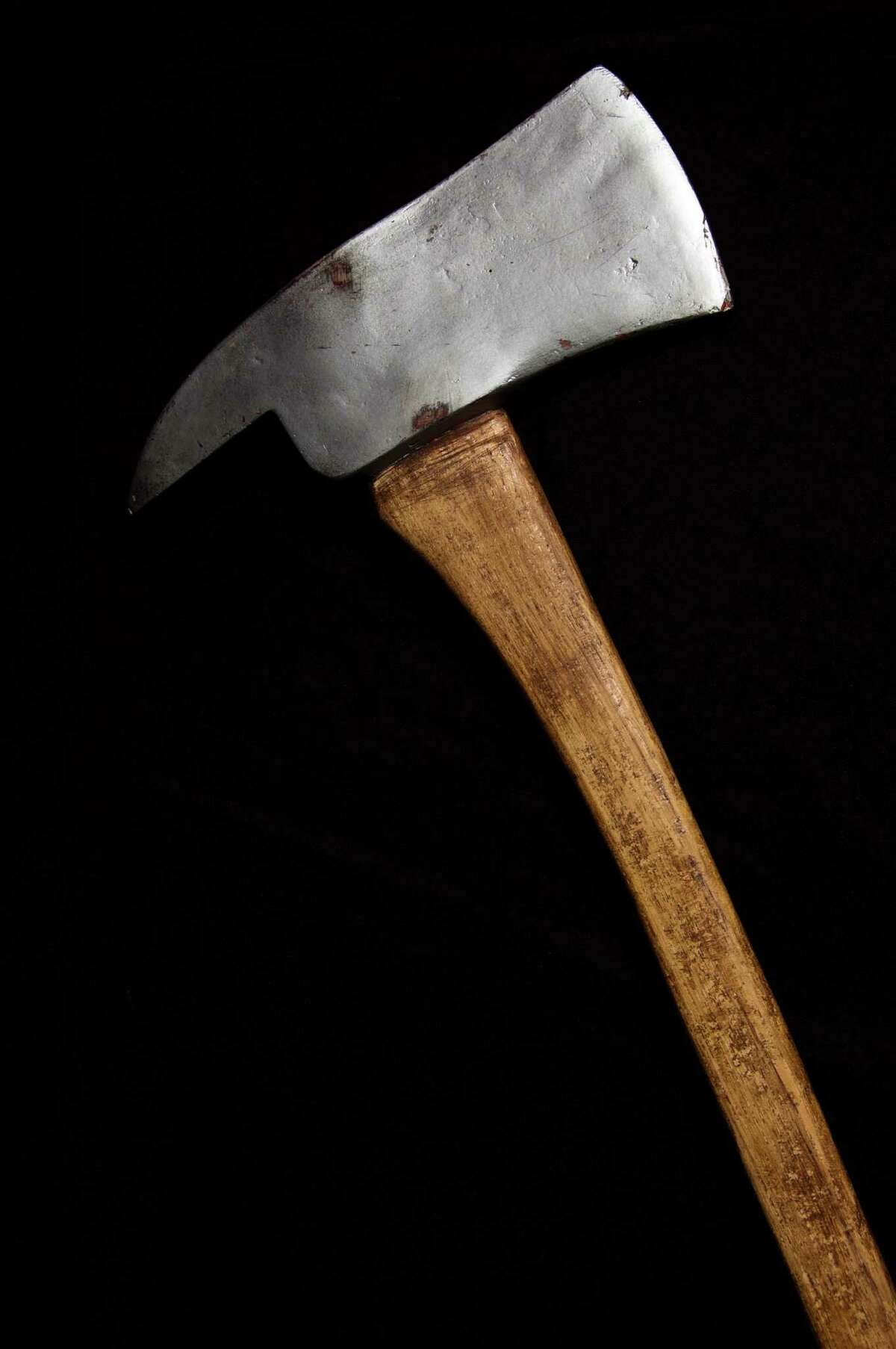 An axe used by Jack Nicholson as Jack Torrance in