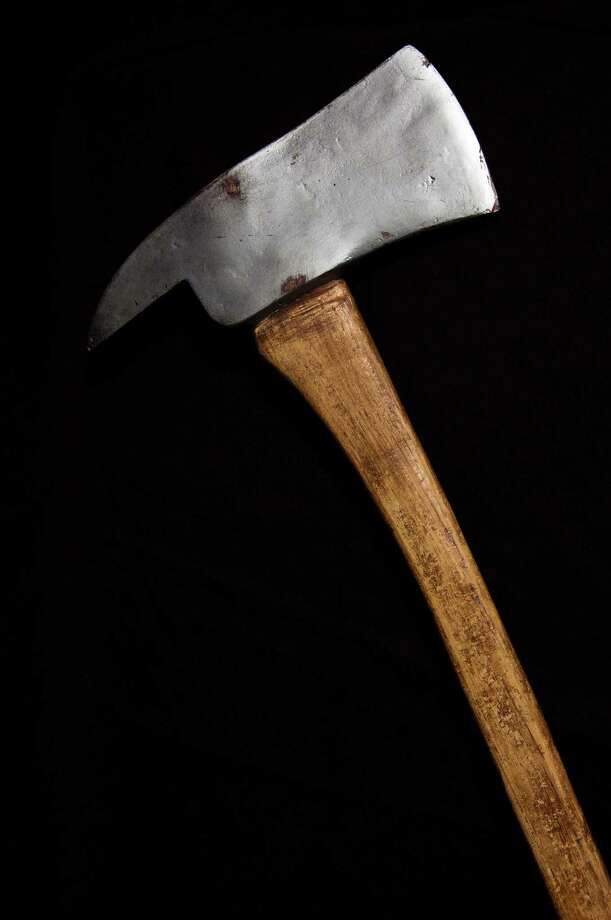"An axe used by Jack Nicholson as Jack Torrance in ""The Shining."" This prop features a fiberglass head for safety during filming. From the Paul G. Allen Family Collection. Photo: Photo Courtesy Of EMP"